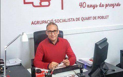 Más de 300 kilos en Alimentos no perecederos recogidos en las Primarias Solidarias del PSOE de Quart de Poblet.