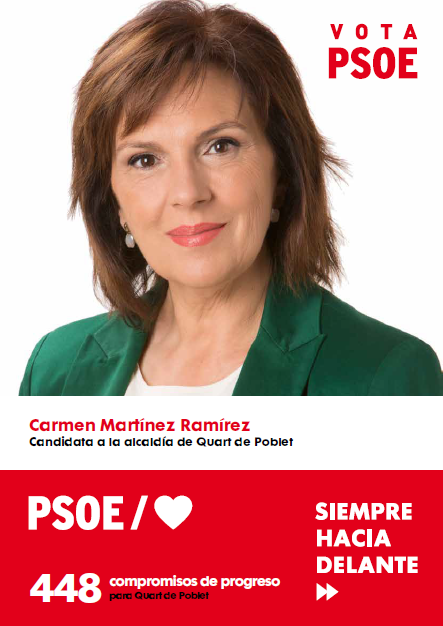 448 Compromisos de progreso para Quart de Poblet. PSOE Quart de Poblet.