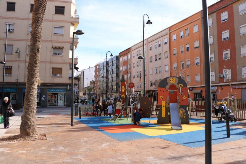 El Ayuntamiento de Quart de Poblet continúa los trabajos de mejora de la accesibilidad en el barrio Río Turia