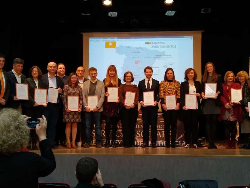 El Ayuntamiento de Quart de Poblet recibe el premio a la Excelencia en Servicios Sociales por tercer año consecutivo